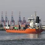 Feederschiff/ Ostseehandel/ feeder vessel/ Baltic Sea trade